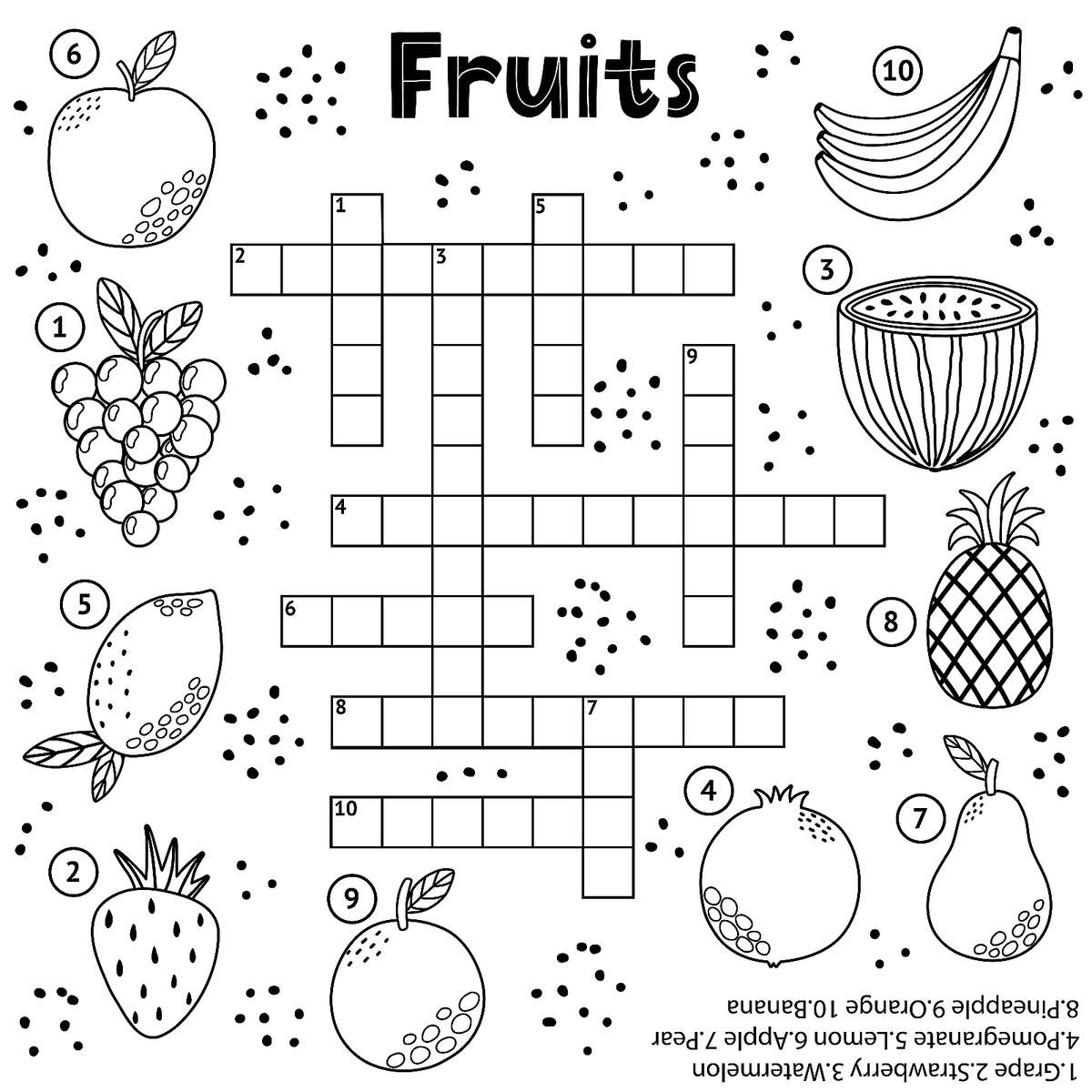 Crossword Puzzles For Kids Fun Free Printable Crossword Puzzle Coloring Page Activities For Children Printables 30seconds Mom Free Printable Crossword Puzzles Crossword Puzzles Printable Crossword Puzzles [ 1200 x 1200 Pixel ]