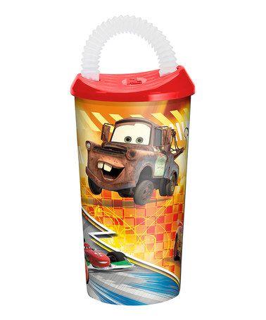 This Cars 17 Oz Optix Fun Sip Tumbler Is Perfect Zulilyfinds Disney Pixar Cars