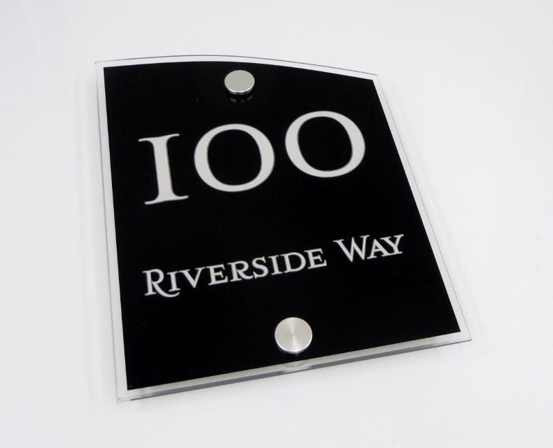 house Number sign 100 :)