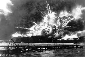 http://www.eyewitnesstohistory.com/pearl.htm  The bombing of Pearl Harbor was a complete suprise.There were planes that attacked the harbor that morning in two different waves. The reason was because The U.S. placed an embargo on Japan by prohibiting exports of steel, scrap iron, and aviation fuel to Japan, because  Japan took over northern French Indochina.