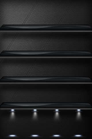 Elegant iPhone Shelf by