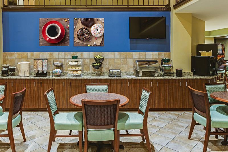 Foto op canvas interieur decoratie idee voor restaurants bars en