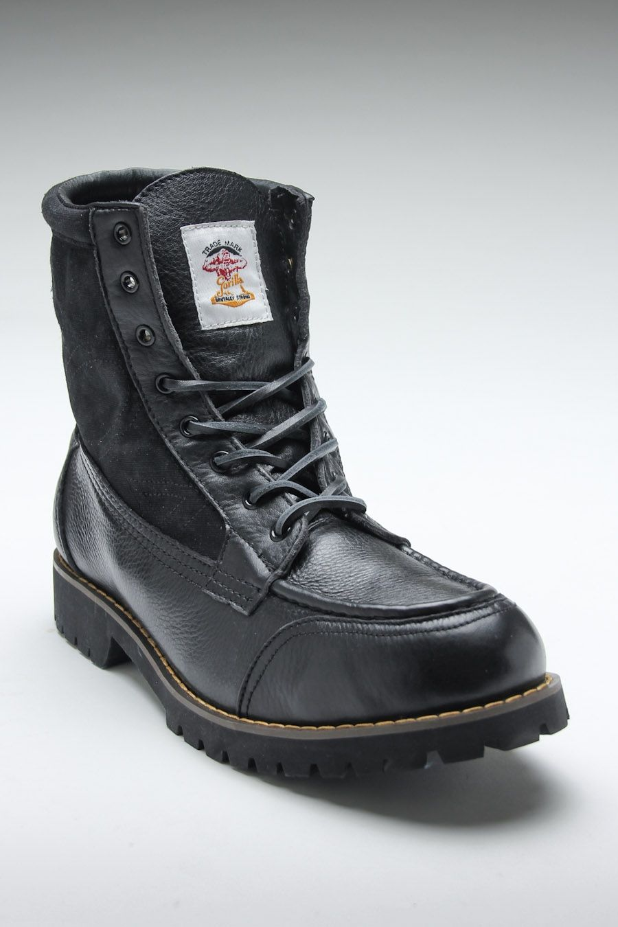 GORILLA 1904 HIKER BOOT BLACK