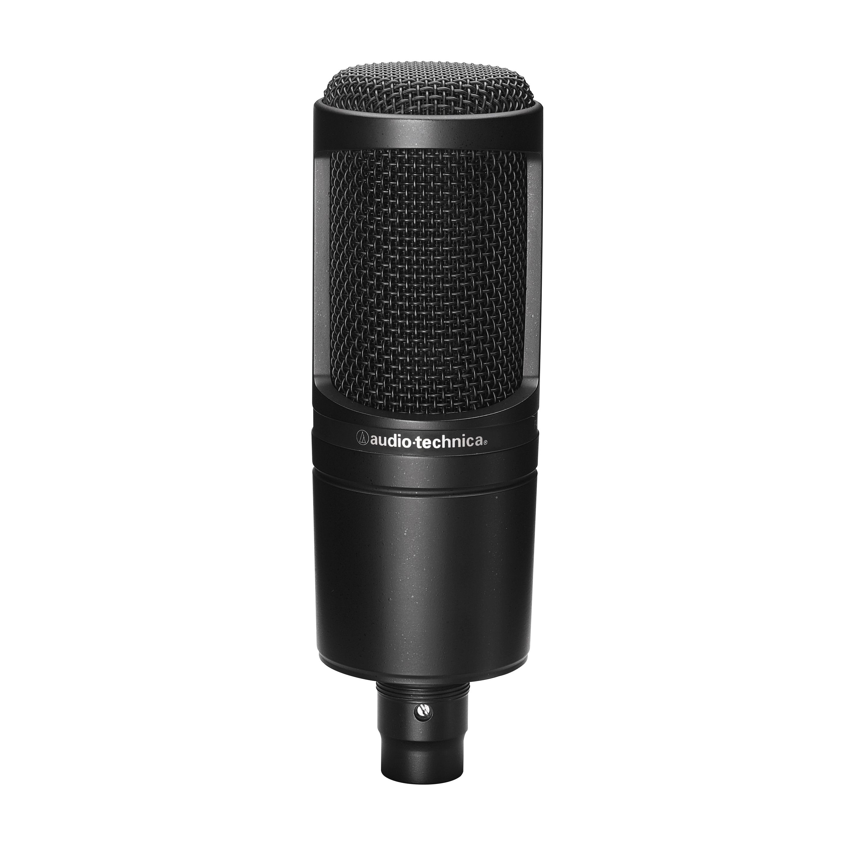 At2020 Cardioid Condenser Microphone Microphone Audio Technica Recording Microphone