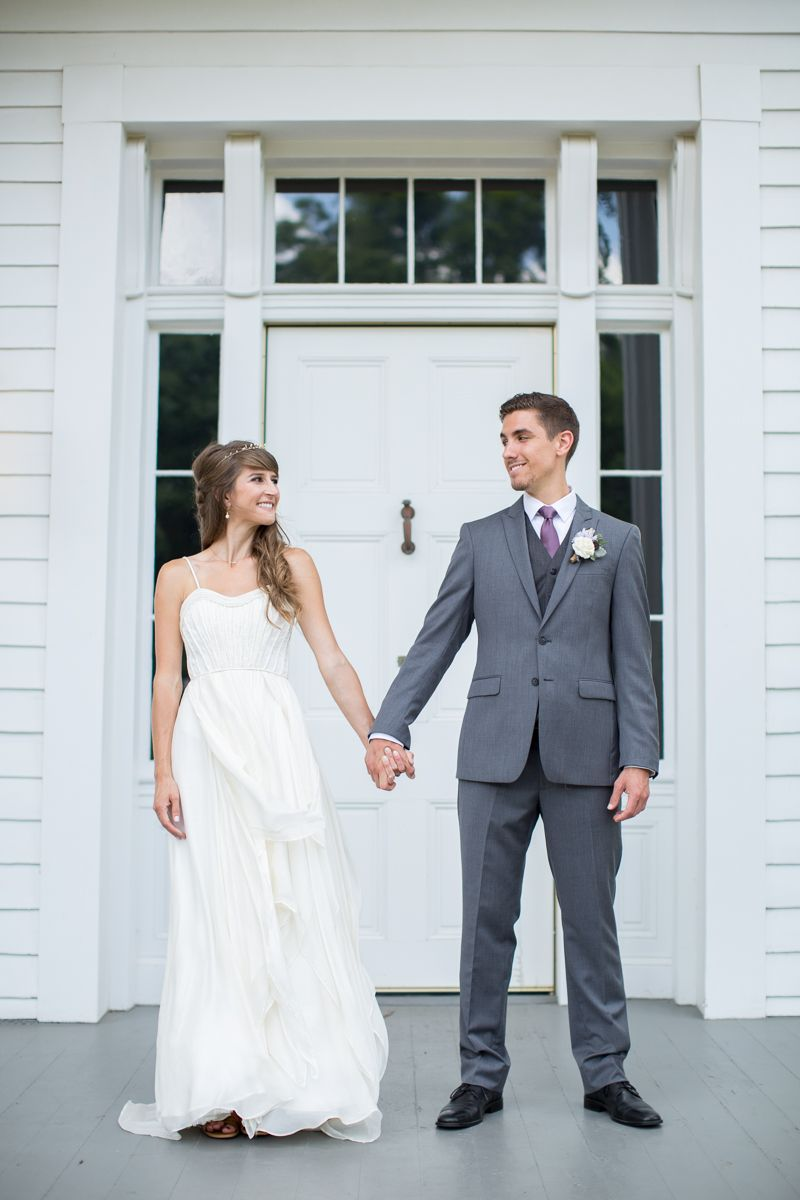 Kimberly & Blake // Bride wore the Cascading Goddess Gown by ...