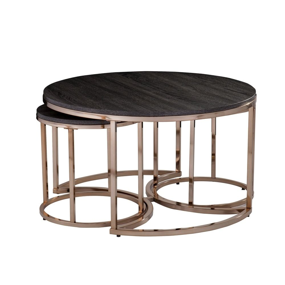 Overstock Com Online Shopping Bedding Furniture Electronics Jewelry Clothing More Nesting Coffee Tables 3 Piece Coffee Table Set Round Nesting Coffee Tables [ 1000 x 1000 Pixel ]