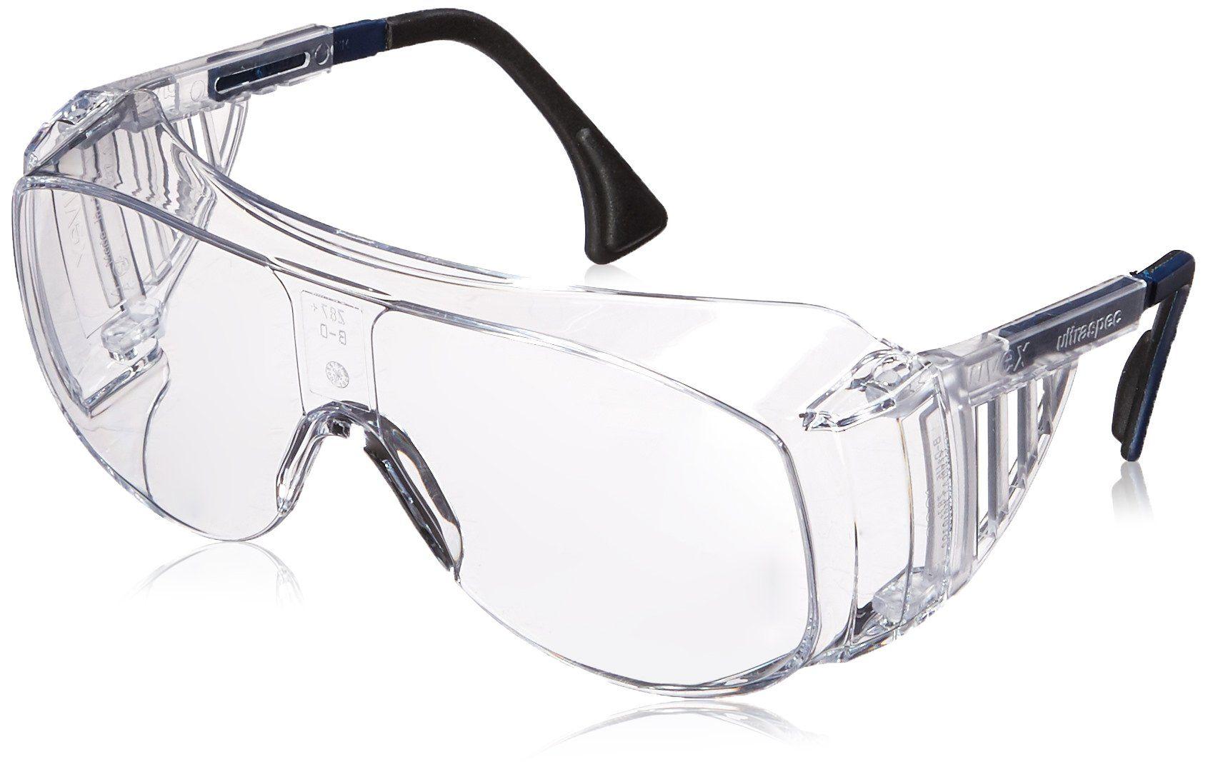 Uvex S0112C Ultraspec 2001 OTG Safety Eyewear, Clear