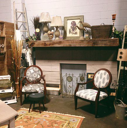 In store we have everything shabby chic, industrial, but also bright and colorful pieces.  #chairs #decor #home #livingroom #neutral #brown www.simplyuniquefinds.com