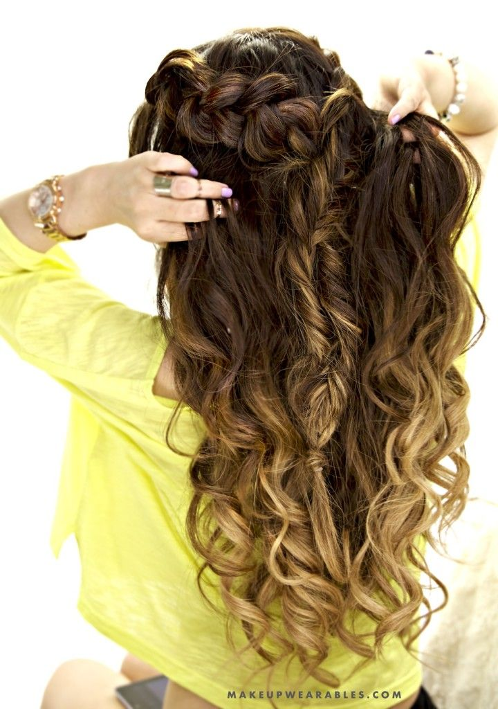 Half-up Half-Down Hairstyle