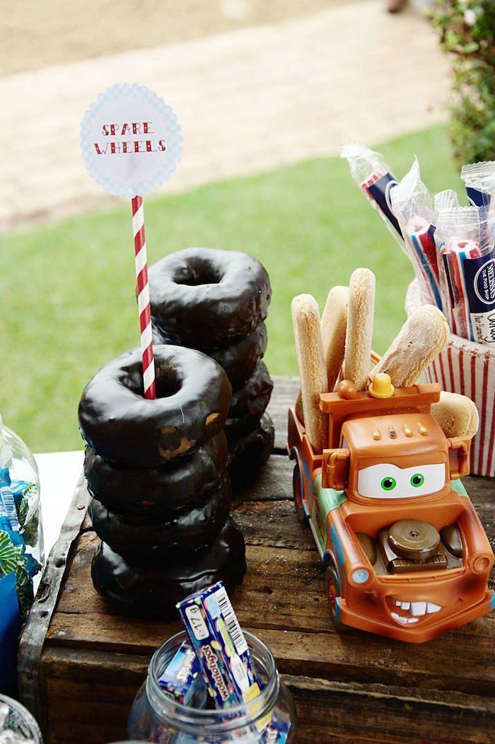 Car Themed 1st Birthday Party via Karas Party Ideas KarasPartyIdeas