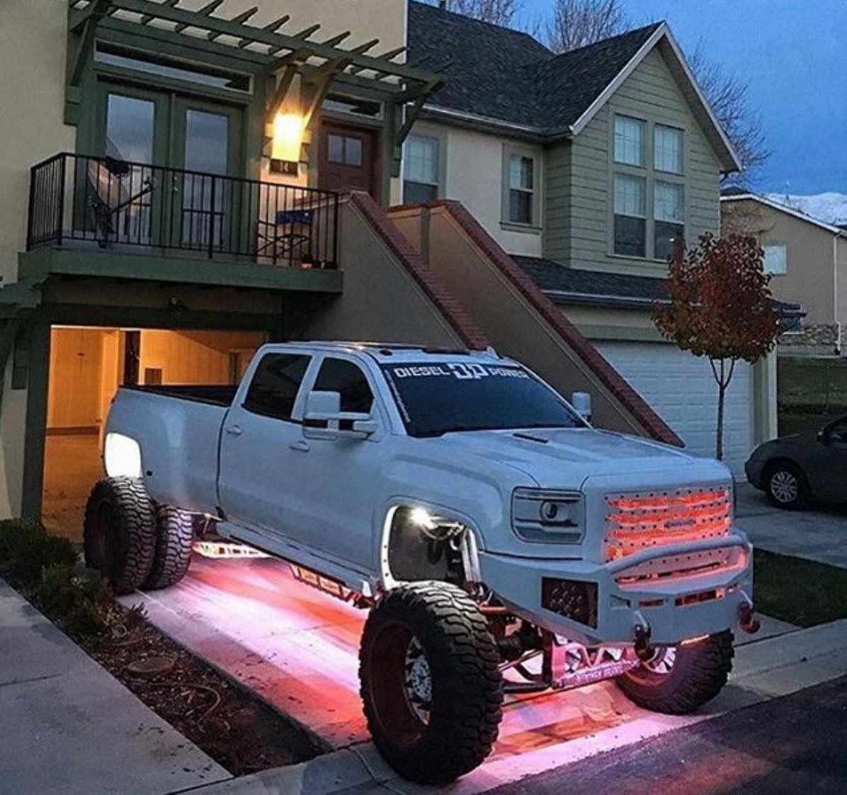 Christmas Lights Are So Last Year Gmc Trucks Trucks Lifted