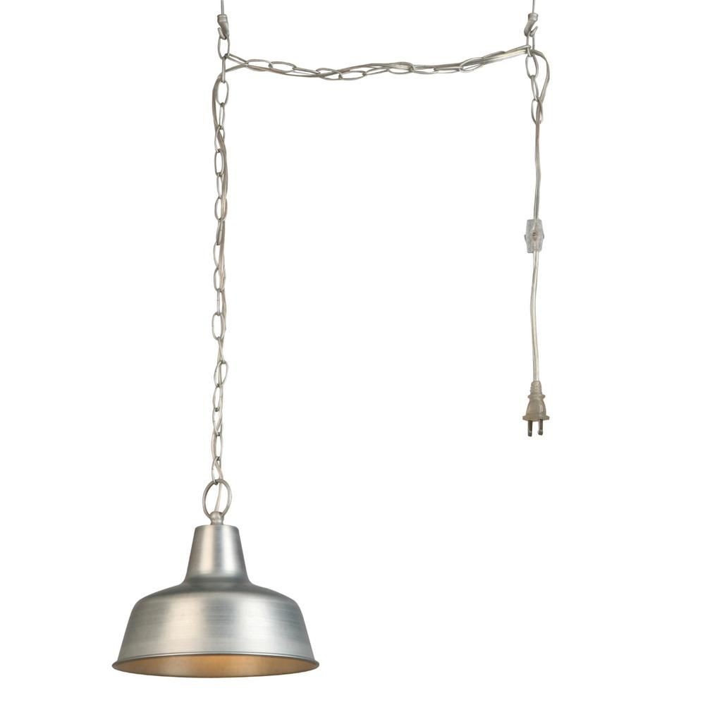 Design house mason light galvanized swag pendant light products