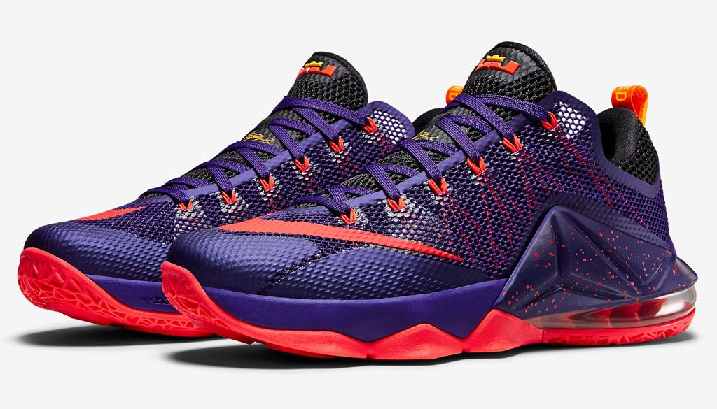 wholesale dealer 86271 70dcf Nike LeBron 12 Low Court Purple | Shoe Biz | Purple ...