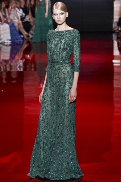 Elie Saab - Haute Couture Fall Winter 2013-14 - Shows - Vogue.it ...