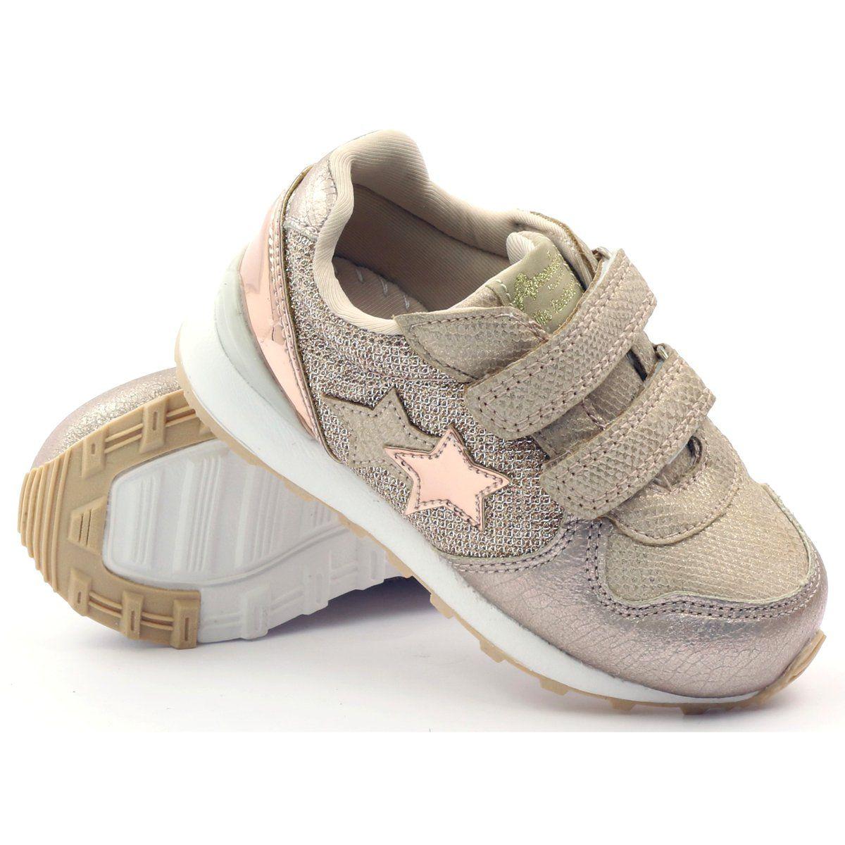American Club Buty Sportowe Trampki American 17355 Zolte Baby Shoes Kids Shoes Shoes