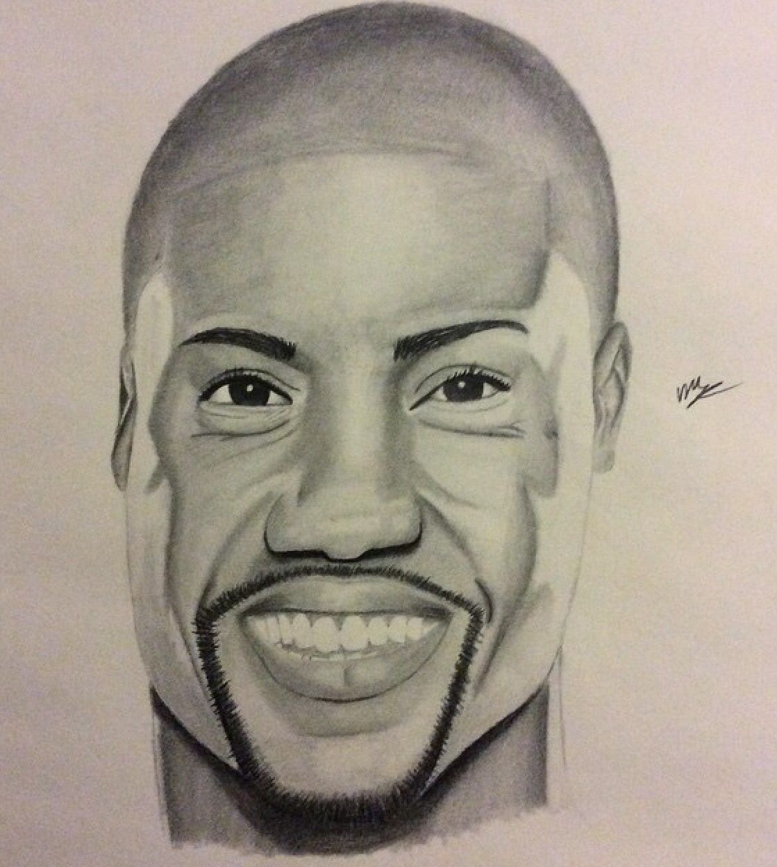 Kevin hart drawing