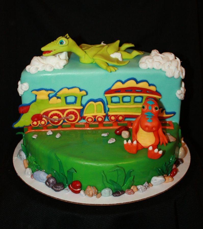 Dinosaur Train Cake Decorating Kit : Dinosaur Train cake Food! Pinterest Dinosaur train ...