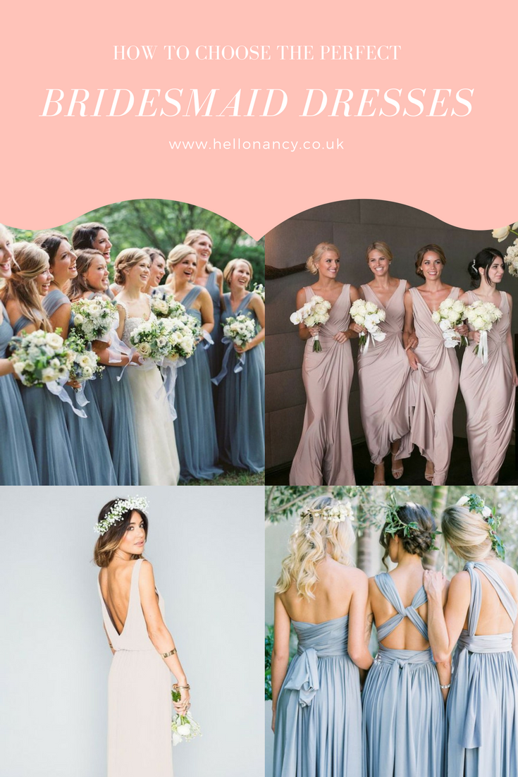 How to find and choose bridesmaid dresses just like my wedding how to find and choose bridesmaid dresses just like my wedding dress shopping blog post ombrellifo Gallery