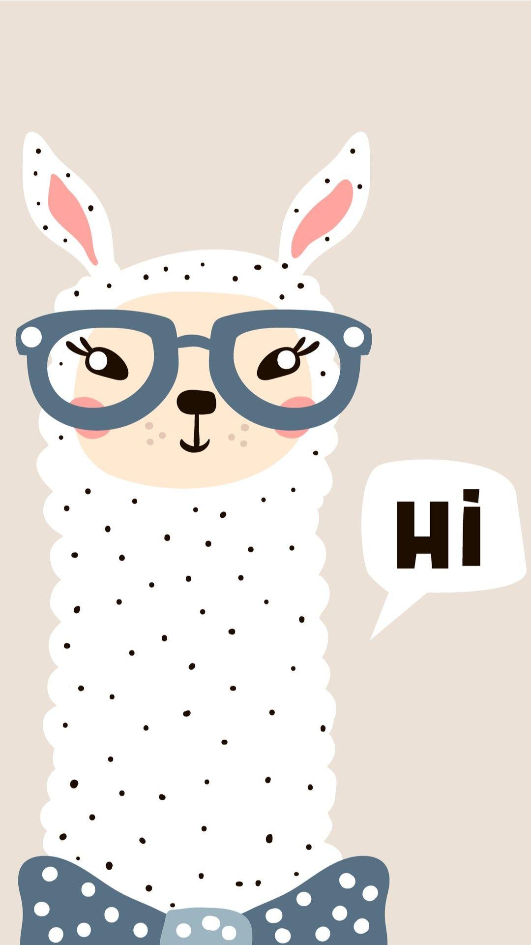 Pin By Cookiie On Kawaii Iphone Wallpaper Cute Wallpapers Cute Llama