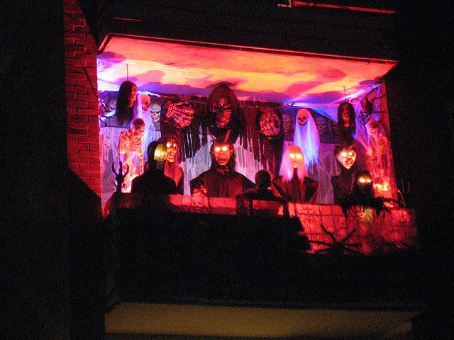 Halloween Balcony Halloween Decorations Apartment Halloween