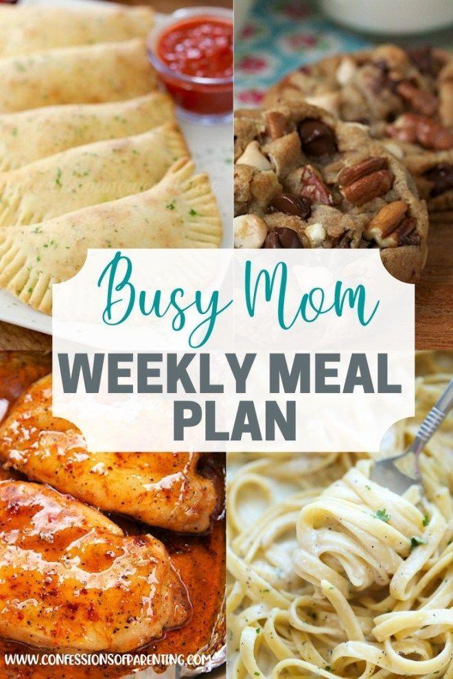 Weekly Meal Plan Weekly Meal Plan