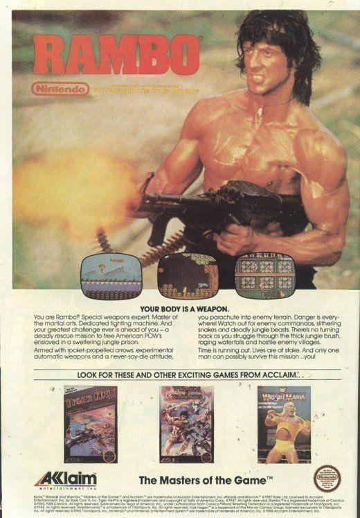 Rambo Acclaim NES