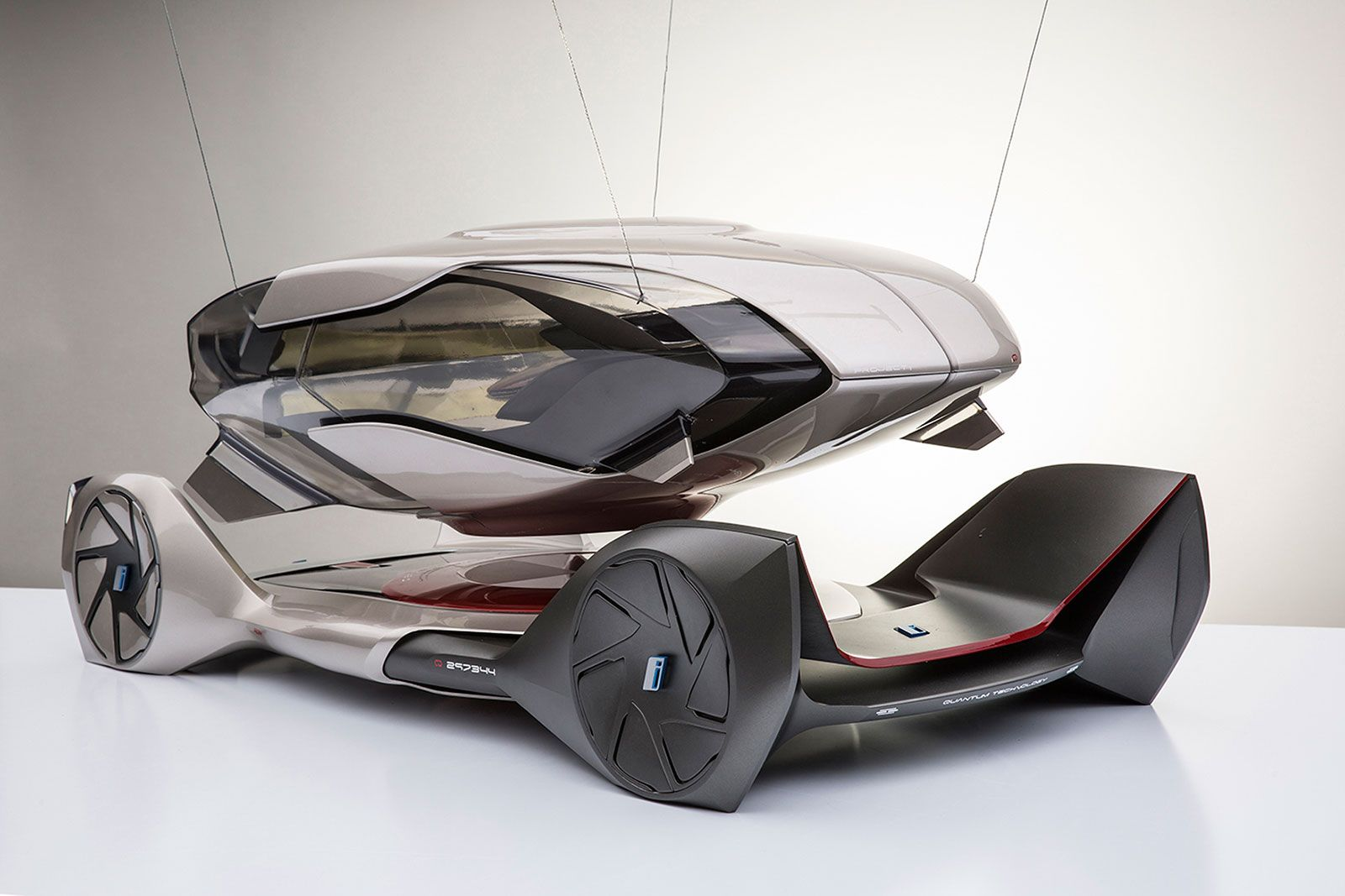 Bmw Iq Concept By Chris Lee Scale Model Car Body Design Concept Cars Car Design Bmw Concept Car