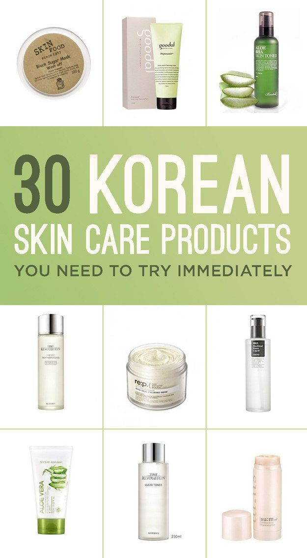 30 Korean Skincare Products You Need To Try Immediately Skin Care Korean Skincare Skin Food