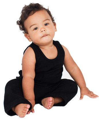 American Apparel Infant Rib Tank -Black. From #American ...