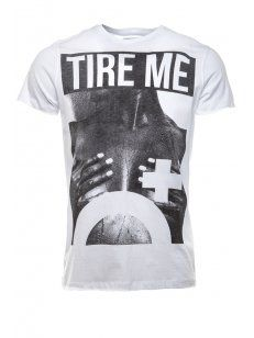 Blood Brother Tire Me T-Shirt White - £35