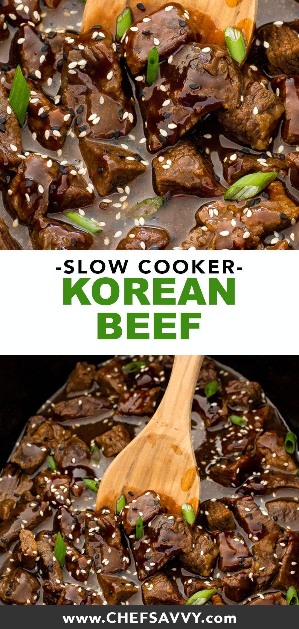 Photo of Slow Cooker Korean Beef – Chef Savvy