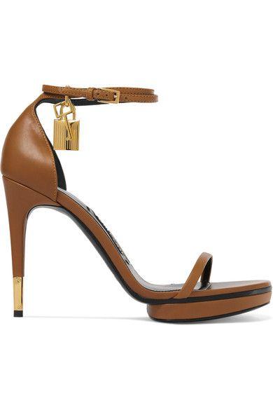 b2afd244b7cd13 TOM FORD Embellished leather sandals.  tomford  shoes  sandals