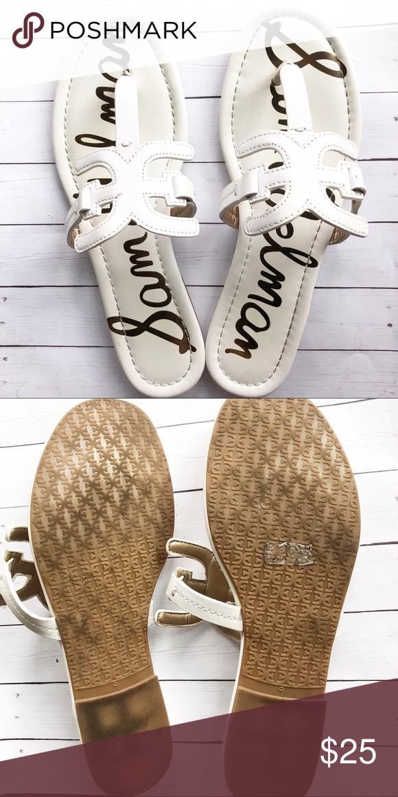 Sam Edelman Women S Carter Flat Sandal Sz 9 Sam Edelman Shoes Sam Edelman Edelman