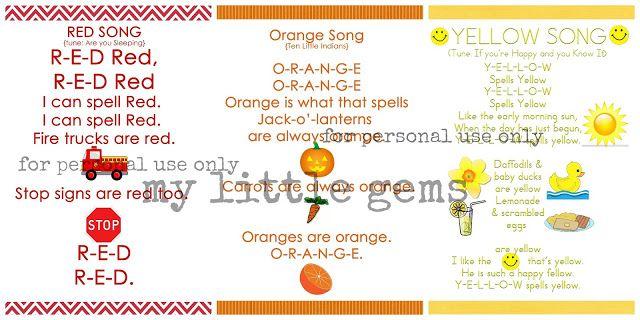 a625e52ad423e7a26fcdaaffedaa46ed - Color Songs For Kindergarten