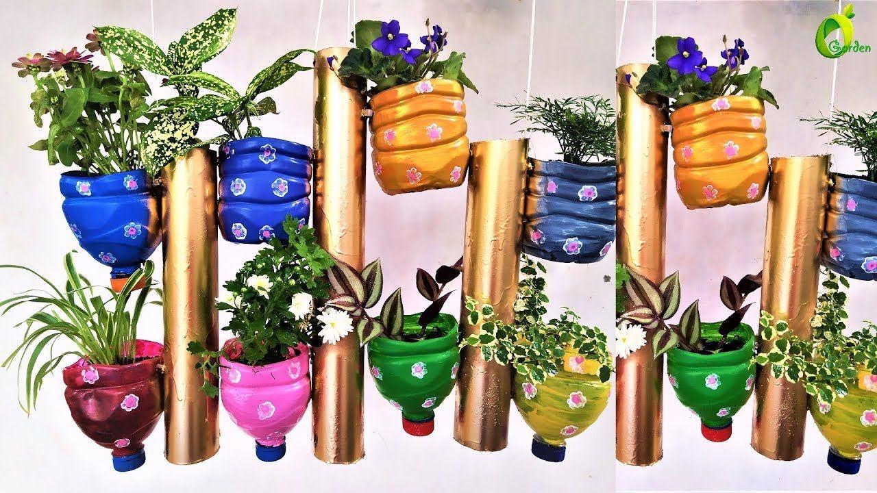 a625f9924dcad6ee627d3baf8c3e3557 - Diy Plastic Bottles Hanging Flower Gardens