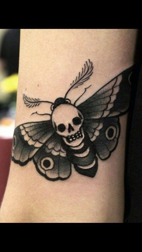 Deaths Head Moth Tattoos Insect Tattoo Hand Tattoos