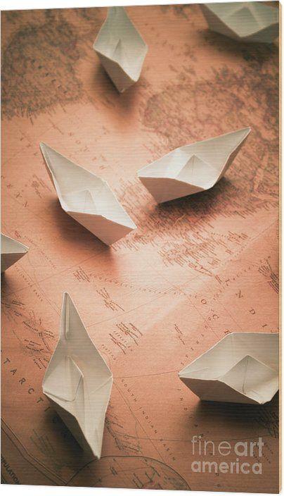 Photo of Origami Ocean Wood Art