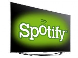 Spotify launces music streaming app on Samsung Smart TV