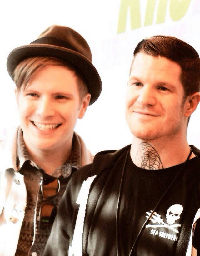 Andy and Patrick!