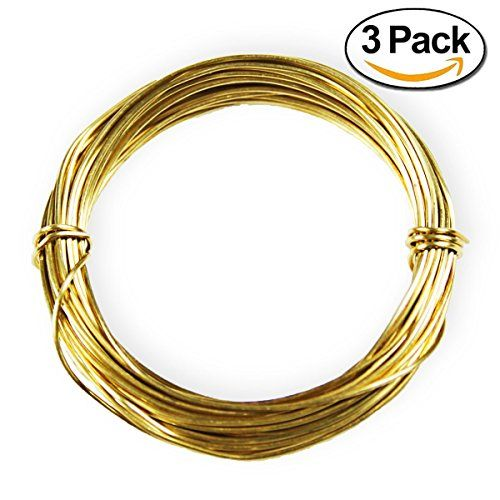 Goglobe Snare Wire Component of Survival Kits Soft Brass 20 Gauge 11 ...