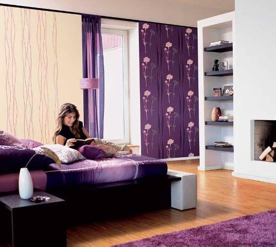Dormitorios Con Acentos En Morado P�rpura Y Lila: 50 Purple Bedroom Ideas For Teenage Girls