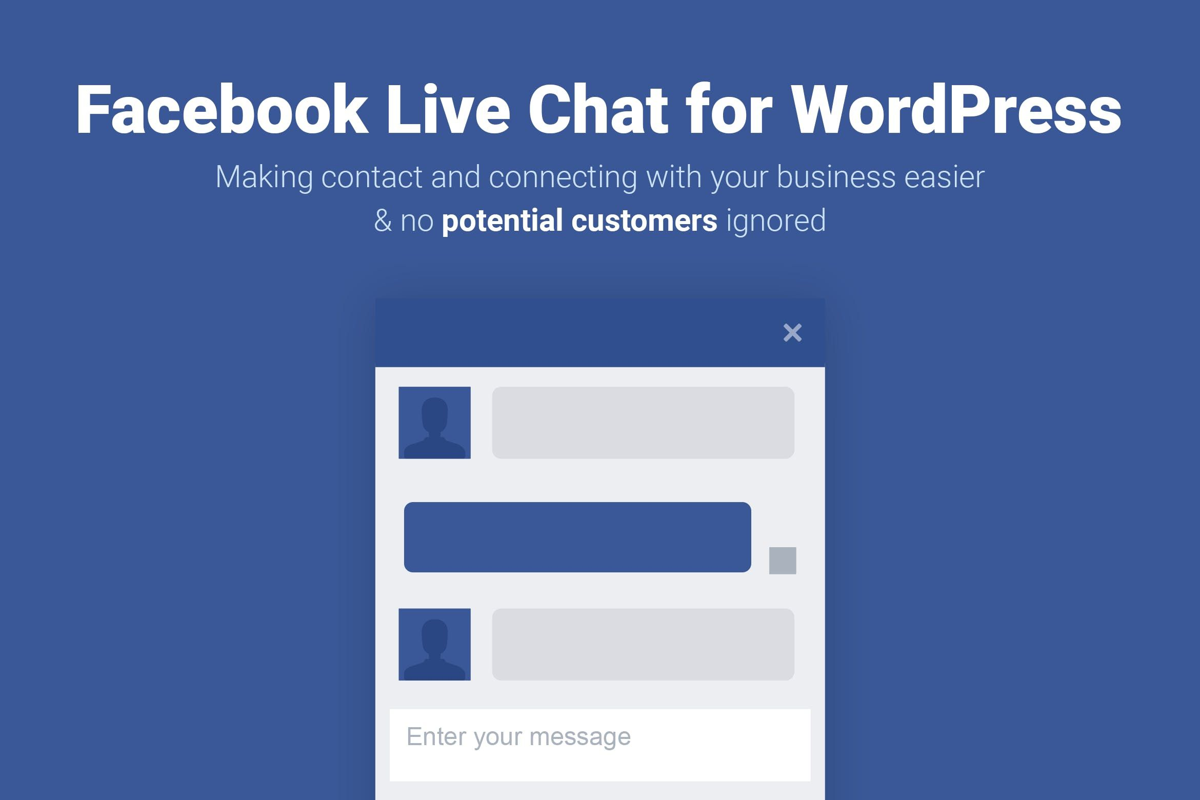 Facebook Live Chat for WordPress #chat, #facebook, #facebook