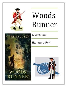 woods runner by gary paulsen literature unit 73 total pages rh pinterest com Runners Training Guides Beginners Guide for Runners