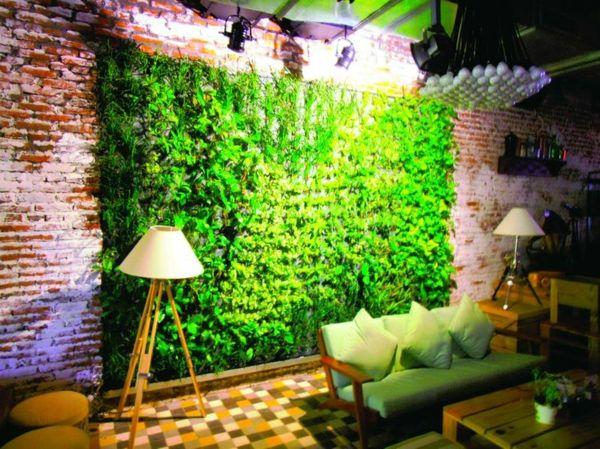 Vertikal Gärten vertikaler garten gestalten sie ihr zuhause mit pflanzen