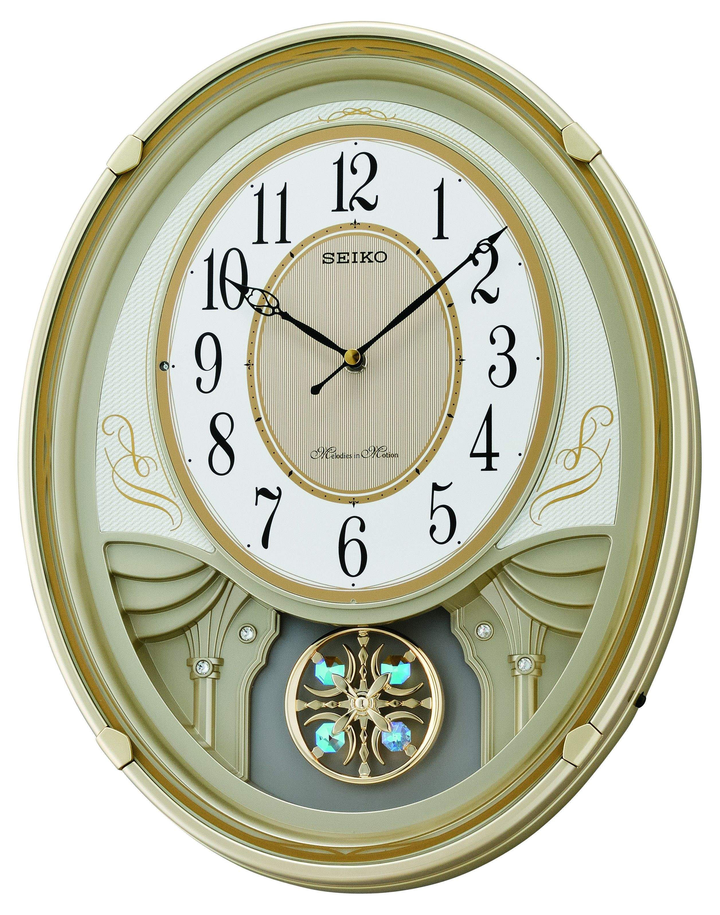 Melodies in motion lucienne musical wall clock 19500 melodies in motion lucienne musical wall clock 19500 amipublicfo Images