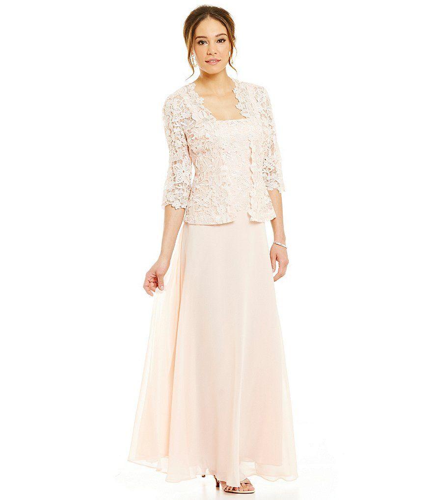 White Lace Jacket Dress