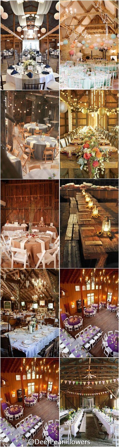 Barn Wedding Reception Table Decoration Ideas / http://www.deerpearlflowers.com/barn-wedding-reception-table-decoration/