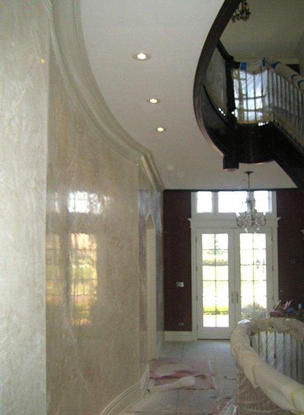 Image result for venetian plaster Interior paint Pinterest
