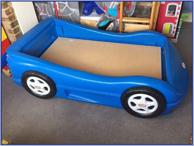 Little Tikes Blue Toddler Race Car Bed Home Design Ideas