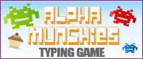 Alpha Munchies Typing | Online literacy games, Typing games ...